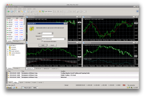 Forex VPS Screenshot - Windows Server 2003 R2